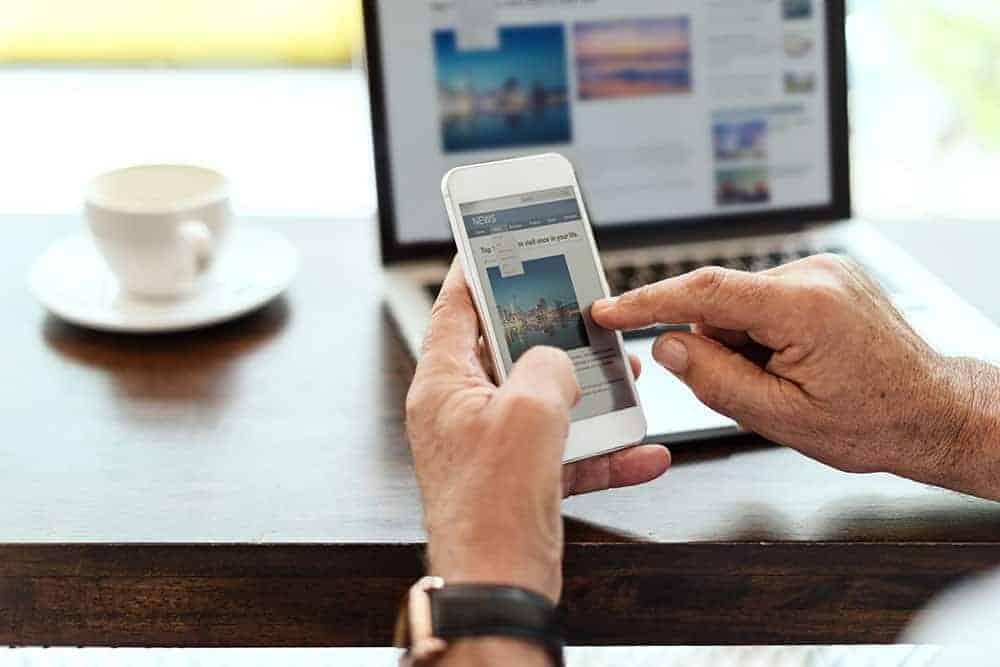 De plus en plus de personnes recherchent sur internet avant d'acheter