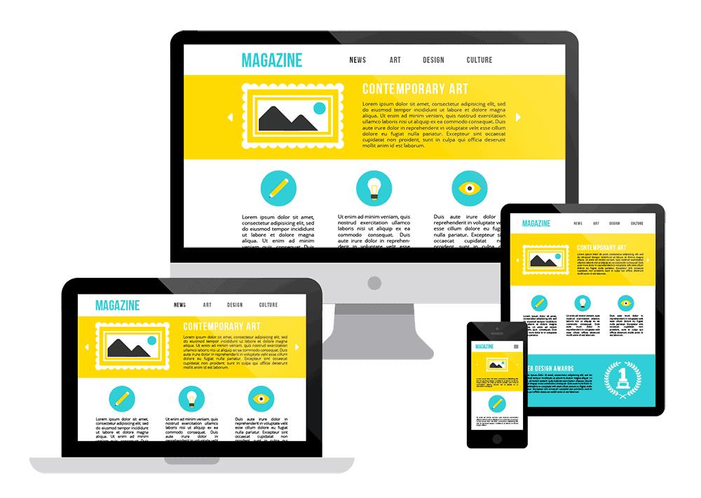 Site qui s'adapte a tous les écrans - Responsive design