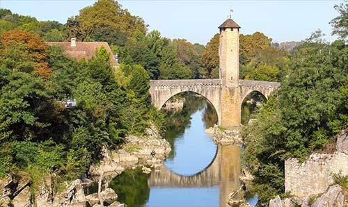 Le pont Vieux à Orthez